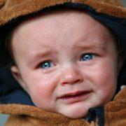 baby der græder