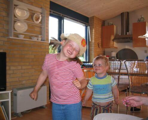 to børn der har tøffetid