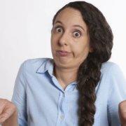billede af forvirret mor