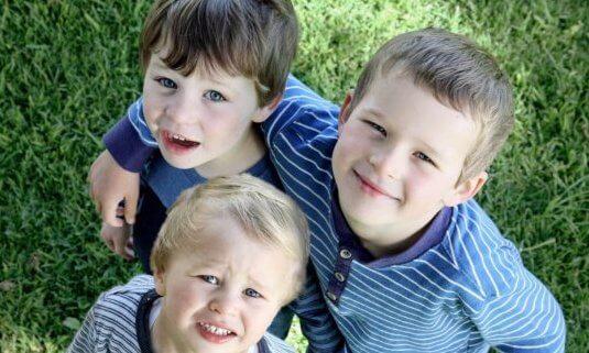 billede af børn
