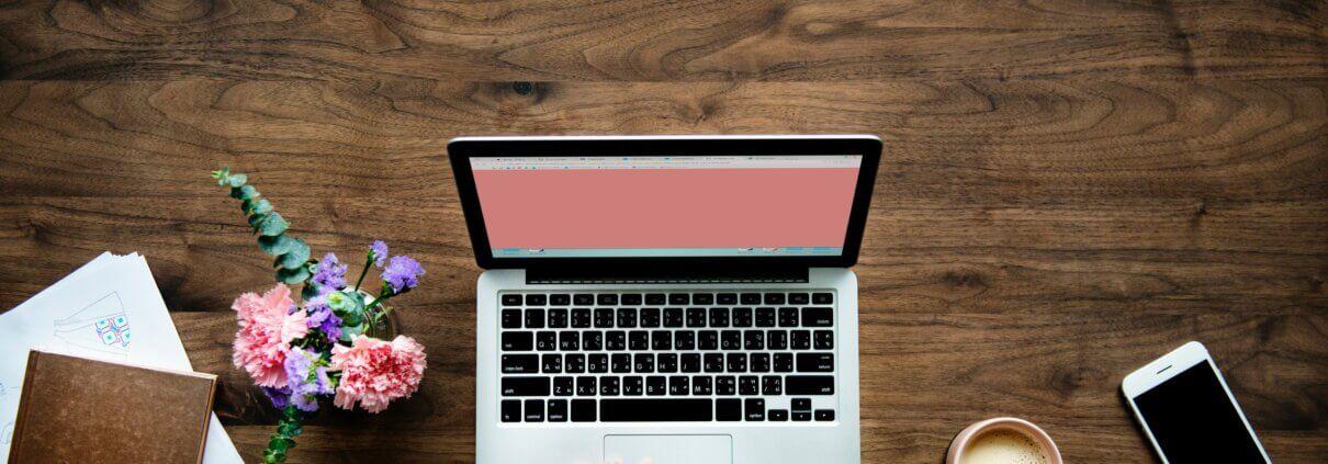 billede af laptop